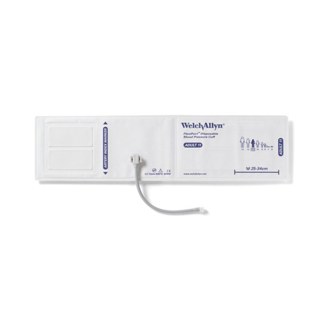 SOFT-11-1SC: FlexiPort Disposable Blood Pressure Cuff with one tube, screw-type connector